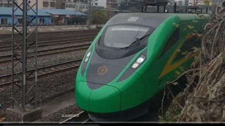 C5765广安南-成都东晚点3分进站15:57