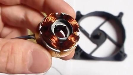 无刷电机秒变发电机,其实操作只需两块磁铁
