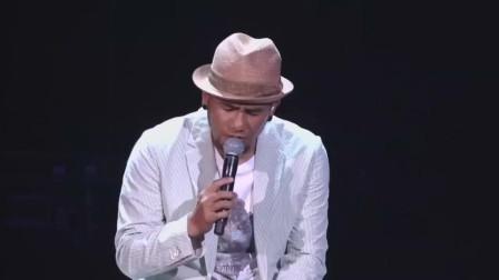张震岳演唱《爱我别走》回味青春的歌曲,单曲循环一整天