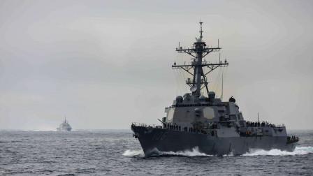 一场中东大战还没打响,美俄军舰却险些相撞,幸亏没发生在战时