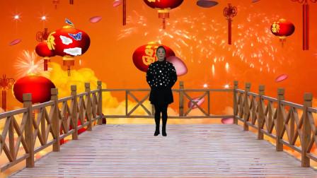 广场舞《渡红尘》节奏欢快动感,简单又好看