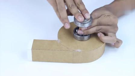 这发明牛不?看好了可是纸壳做的哦,就问你们服不服