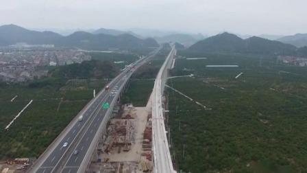 浙江新闻联播 2020 今日快讯 金台铁路台州段42座隧道全部贯通