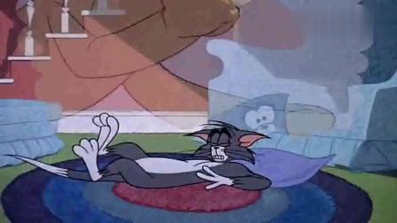 猫和老鼠:汤姆梦见被大狗锤,醒了之后出一头冷汗