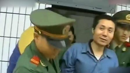 珍贵影像:张君和张子强上刑场时对比,一个在笑,一个腿软