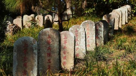 """中国最大抗战烈士陵园""""一寸山河一寸血,十万青年十万军""""令人感动"""