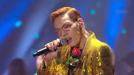 陈伟霆翻唱郭富城的《唱这歌》,粤语一出太惊艳,引全场粉丝尖叫