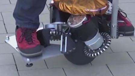 只有一个球形轮胎的车怎么走?德国大叔有妙招,超越奥迪率先问世