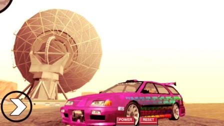 [gtasa]com.rockstargames.gtasa 本田 奥德赛,MPV 也可以跑的很快,涂装喷漆,涡轮面包,雷达站乱跑之旅,X-Flow.改...