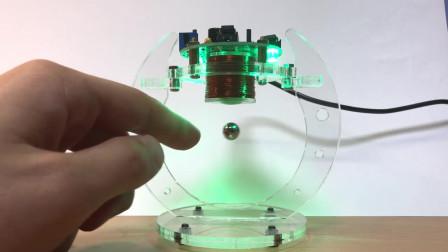 这个悬浮球据说打破了磁场的定义,感兴趣的小伙伴可以研究一下