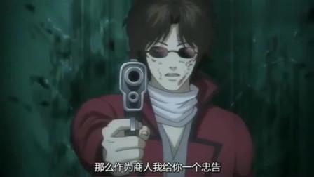 银魂:仅存的同伴被控制,坂本毫不犹豫向同伴开枪!
