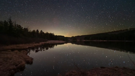 从星河璀璨到日出东方,各种自然美景的延时摄影,真美