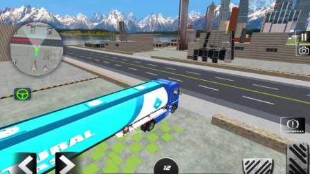 好玩的游戏:驾驶大货车闯关