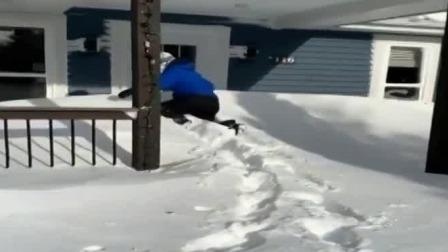 加拿大遭遇暴风雪 积雪厚度达80厘米 每日新闻报 20200120 高清版