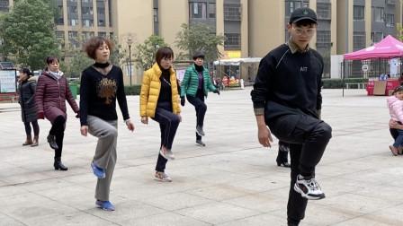 鬼步舞《左右点地》奔跑教学,慢动作口令分解,2分钟轻松学会