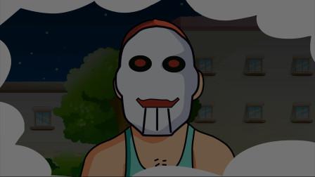 恐怖动画:诡异!男子跟在梦游妻子身后,却发现自己反被跟踪