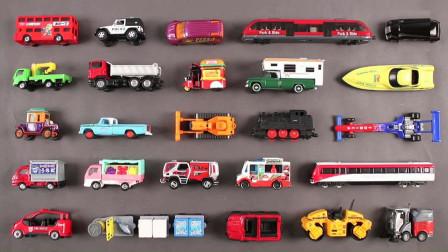 学习认识汽车模型玩具