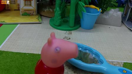 《小猪佩奇》小故事,猪妈妈的漂亮镜子,哇,佩奇也很喜欢!