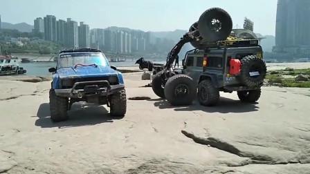 地形无人驾驶越野车,攀爬越野能力牛啊
