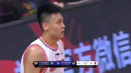 全明星赛MVP可能会水,但赵睿脚踩风火轮上篮2+1这一球绝不水!
