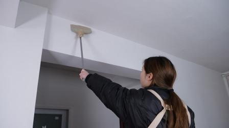 天花板灰尘难清扫,教您成本不到5毛钱,天花板干干净净不留灰尘