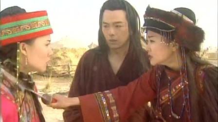 王宝钏与薛平贵-公主让乌兰不要再阻止自己了,公主带平贵到小镇上找宝钏