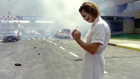 因失误造就经典镜头:但小丑炸医院并非失误,导演巧妙安排成经典