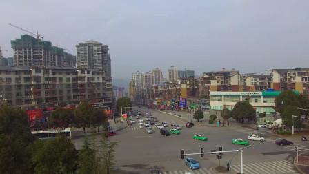 航拍贵州优秀旅游城市,城市建设好,发展前景巨大