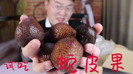 试吃印尼蛇皮果,听说闻着奇臭吃着挺香,五块钱一个你会买吗