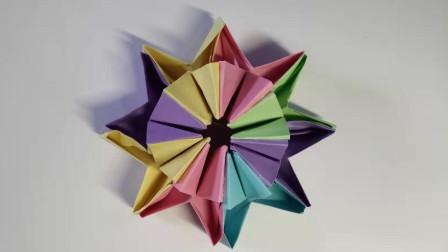 折纸彩球窦老师教画画