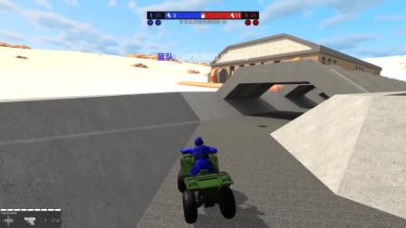战地模拟器:来到了一张迷宫一样的地图,跑了半个图了都没见到敌人