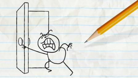 阿呆得到了一张藏宝图 他能获得宝藏吗?铅笔画小人游戏