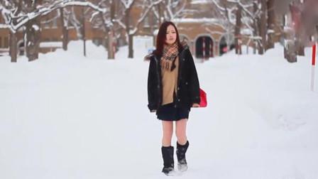 日本女生冬天为何不穿羽绒服,真是因为抗冻吗?当地人相视一笑