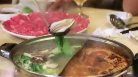 韩综:韩国艺人到香港吃火锅,点了一大桌生蚝牛肉,两人吃得过瘾!
