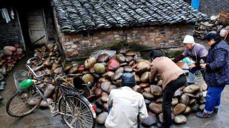 """长江边有一个""""怪村"""",村民们靠捡石头为生,却个个都是""""土豪"""""""