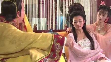 梅妃害得杨玉环流产,皇上终于决定处决她,梅妃不知情,还在跳舞