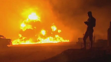 偷油者引发!尼日利亚输油管道爆炸 带走5条人命