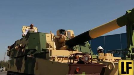 """这次肯定不会""""搞砸"""",实拍印度国防部长乘坐国产火箭炮!"""