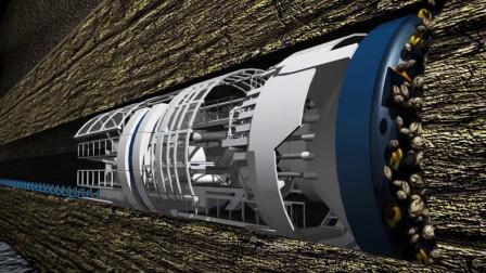 """中国""""海底隧道""""是怎么建造的?3D技术还原全程,这技术真自豪"""