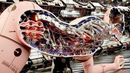 """日本制造""""最逼真""""机器人,研究内部结构后,这科技太牛了!"""