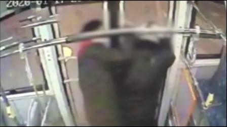 男子坐过站要下车被拒 9秒狂殴司机20拳:我爸等着 怕冻着
