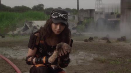 怪兽攻击人类,美女战士为了救孩子们组成了地球防卫队!