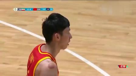 """中国男篮史上五大隔扣,易建联:""""听说有人想帽我"""""""