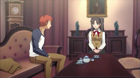 《命运守护夜》凛和士郎签订休战协议,红A心里很不满