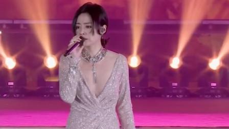 张靓颖最贵的一首歌,华为花天价为她买下版权,前奏响起瞬间震撼