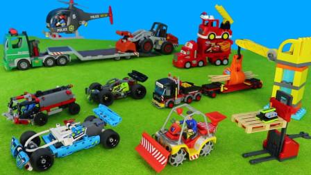 超奇怪!运输车接到什么任务为何要紧急出发呢?趣味玩具故事