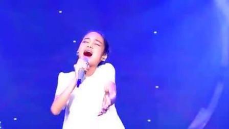我天!韩红做梦都没想到吧,11岁小女孩挑战她的歌曲竟把她都超越了
