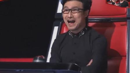 连汪峰都不敢相信了,60岁大爷唱他的歌,竟把他自己都超越了