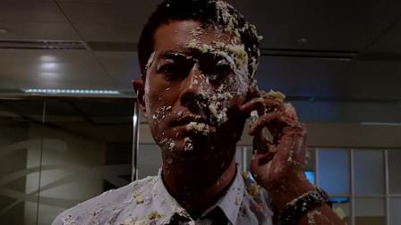 古天乐实在太花心了,女朋友们聚在一起,都往他脸上扔蛋糕