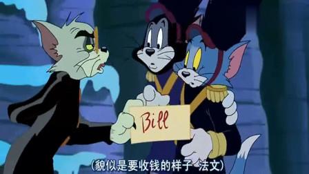猫和老鼠:杰瑞终于来到这里,快要进门的时候,却被猫咪截住